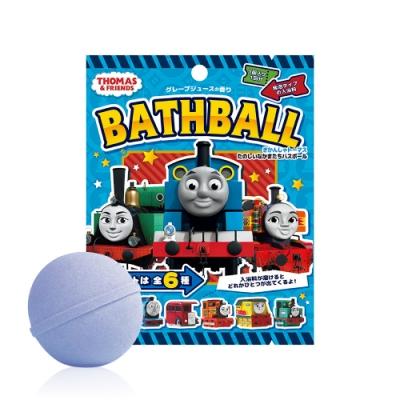 日本NOL-湯瑪士小火車伙伴們入浴球-4入(葡萄果汁香味/3Y+/泡澡/洗澡玩具/交換禮物)