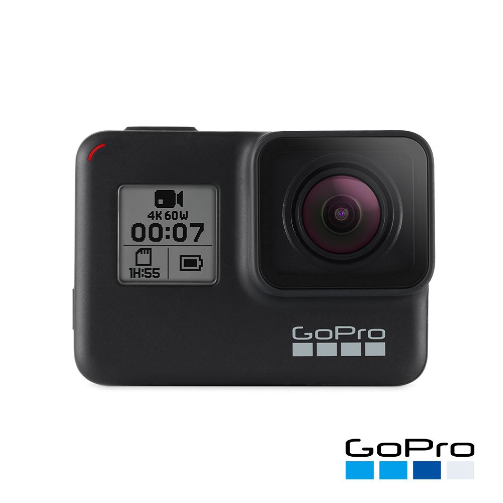 (無卡分期12期) GoPro-HERO7 Black運動攝影機CHDHX-701-RW