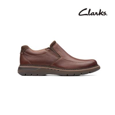 Clarks   摩登經典  Un Ramble Step   男鞋  紅褐色  CLM38188SC20