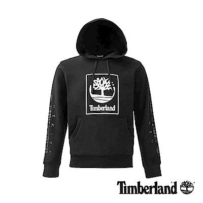 Timberland 男款黑色TAIWAN LOGO連帽上衣 | A1OHW