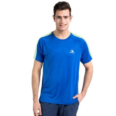 【St. Bonalt 聖伯納】涼感機能速乾圓領T恤 (16127171 - 深藍) 男款 吸濕 排汗 速乾 涼爽 夏天必備