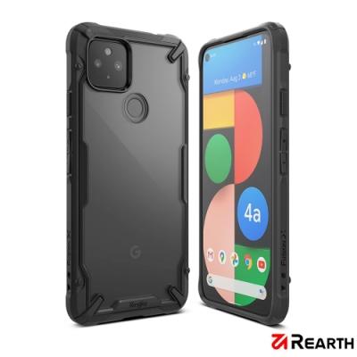 Rearth Google Pixel 4a 5G (Ringke Fusion X) 高質感保護殼(黑)