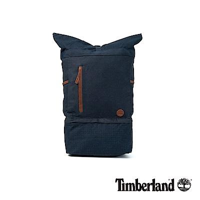 Timberland 男款暗藍色Roll Top上捲式後背包|A1CU8