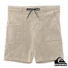 【QUIKSILVER】 CLASSIC CORD SHORT 18 短褲 卡其