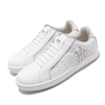Royal Elastics 休閒鞋 Icon Genesis 套腳 穿搭 女鞋 基本款 輕便 舒適 簡約 皮革 白 銀 91902008
