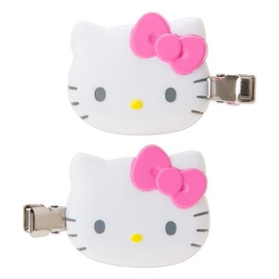 日本Sanrio三麗鷗Hello Kitty髮夾酷洛米髮夾A301兩入立體造型