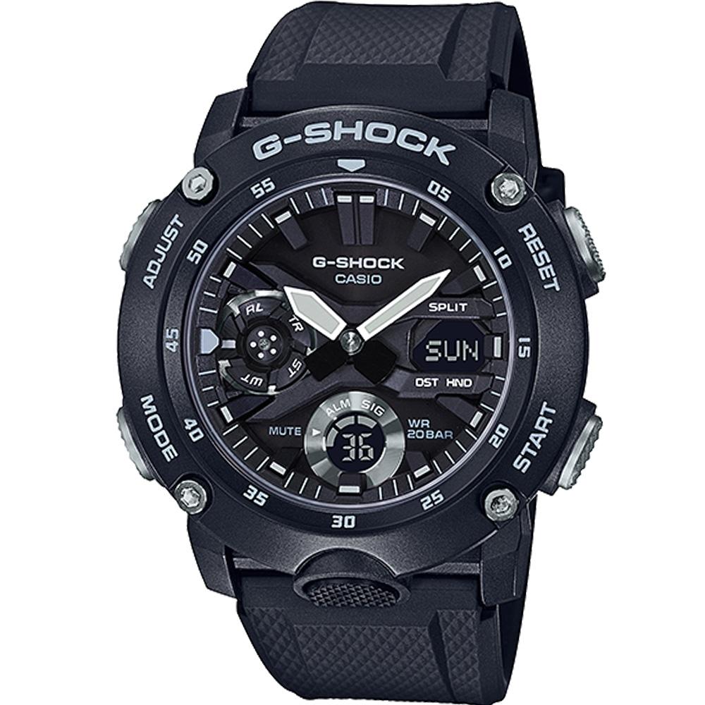 CASIO G-SHOCK 極限運動多功能錶(GA-2000S-1A)