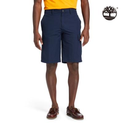 Timberland 男款深寶石藍寬鬆工裝短褲 A2EBF