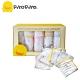 黃色小鴨《PiyoPiyo》四層紗 布印花口水巾禮盒 product thumbnail 1