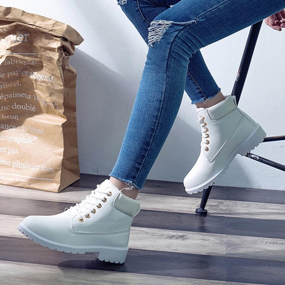 【LN】現貨 萬年不敗情侶款短筒馬丁靴-女