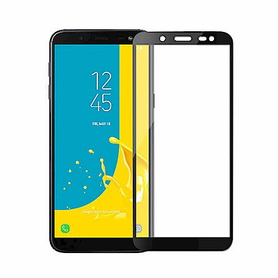 【SSTAR】SAMSUNG Galaxy J6 全膠滿版9H鋼化日規玻璃保護貼...