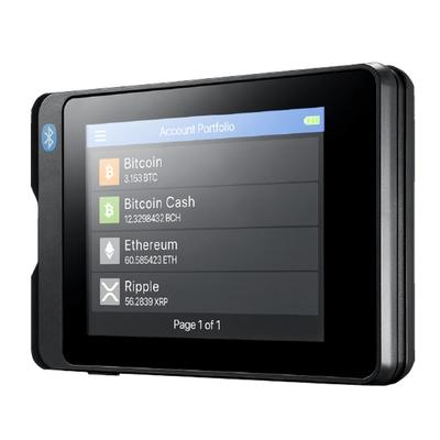 安瀚科技 SecuX W20 加密貨幣硬體錢包 (英飛凌安全晶片 藍芽 觸控彩色螢幕 比特幣 以太幣 虛擬貨幣 冷錢包)