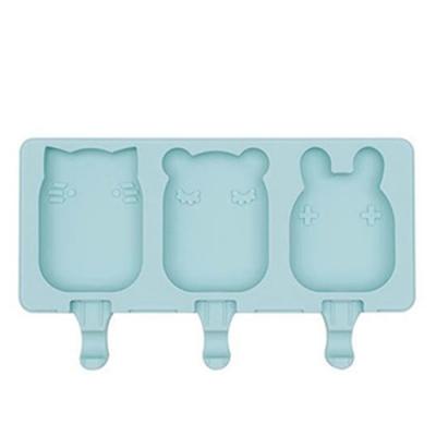 澳洲We Might Be Tiny 矽膠動物冰棒盒-薄荷綠