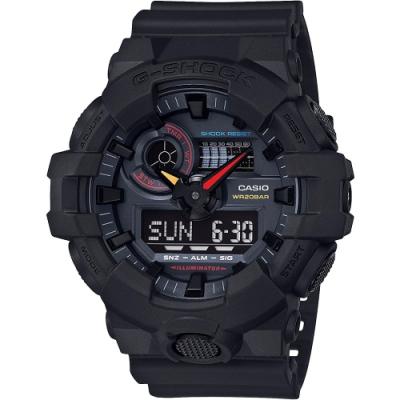 CASIO 卡西歐 G-SHOCK 東京霓虹手錶(GA-700BMC-1A)