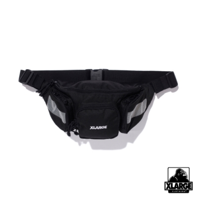 XLARGE MULTI PURPOSE WAIST BAG口袋腰包-黑