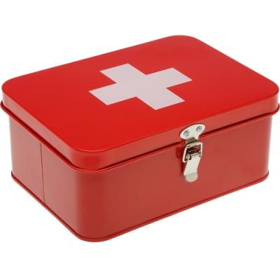 《VERSA》扣式急救收納盒(紅)