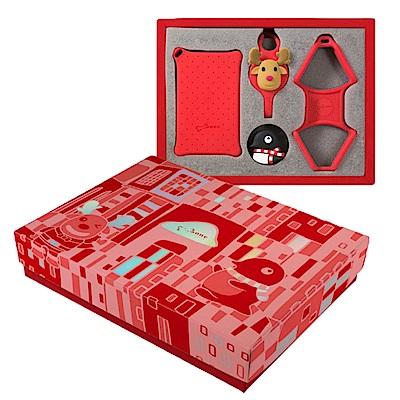 【BONE】頸掛繩禮盒 頸掛繩禮物組 Lanyard Gift - 華麗耀眼紅