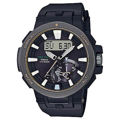 CASIO PRO TREK 超大LCD戶外活動登山錶(PRW-7000-1B)