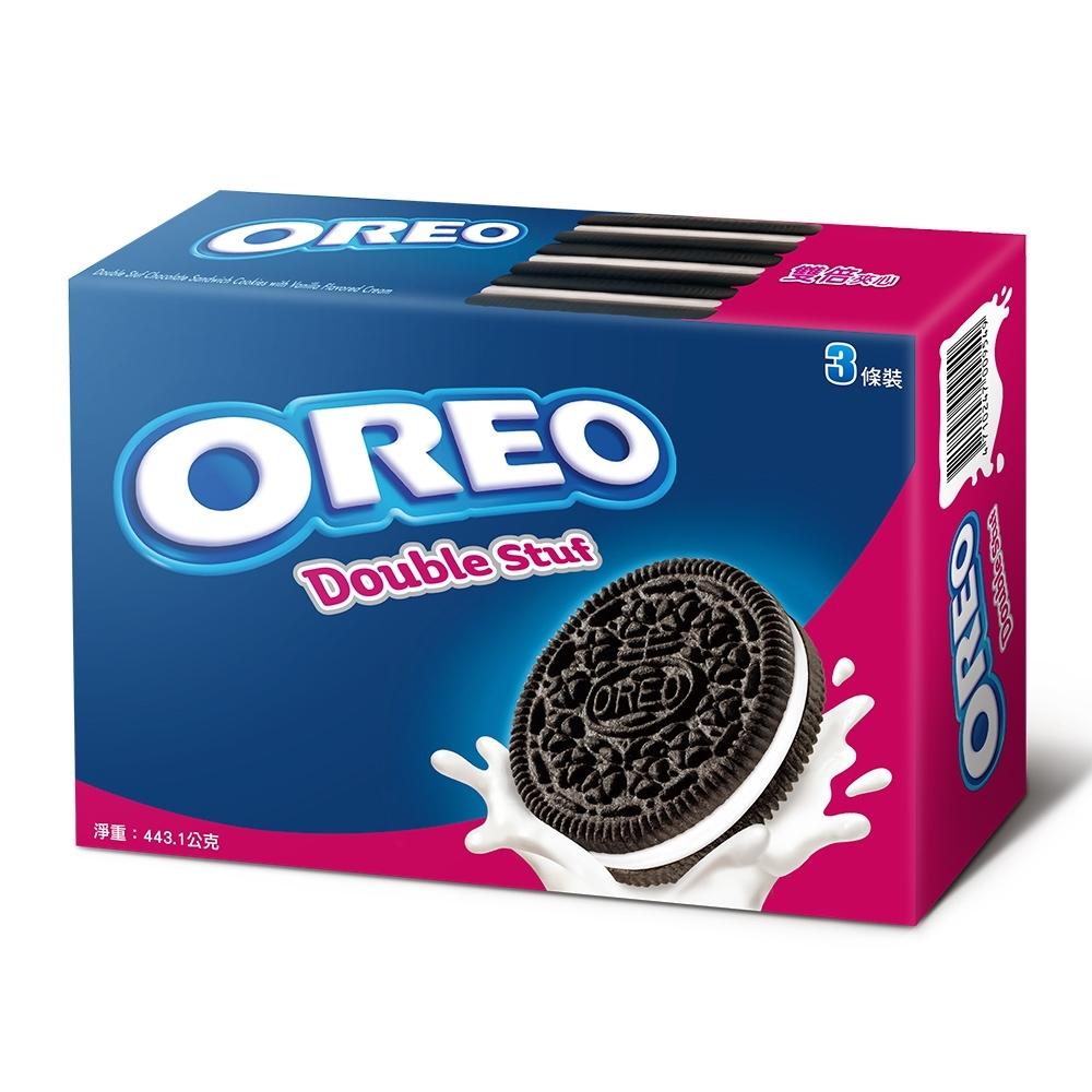 OREO奧利奧雙倍夾心餅乾(147.7gx3包)