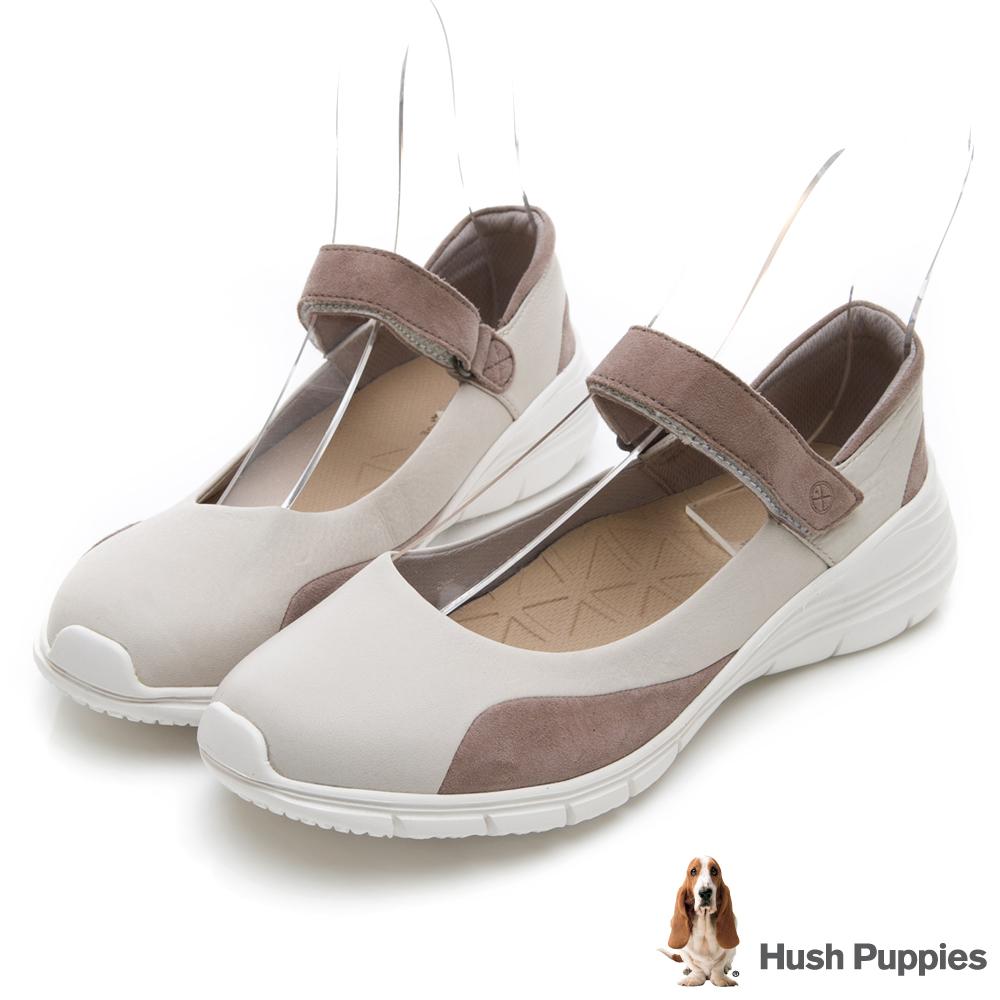 Hush Puppies CYPRESS 輕量休閒鞋-米白