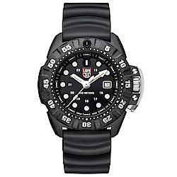 LUMINOX 雷明時Scott Cassell Deep Dive 專業深潛系列手錶-黑