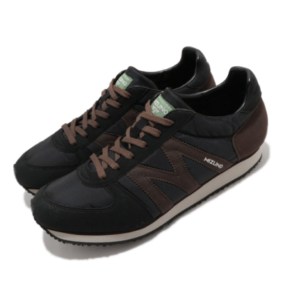 Mizuno 休閒鞋 MR1 復古 低筒 男鞋 美津濃 M-line 穿搭 基本款 黑 棕 D1GA196055
