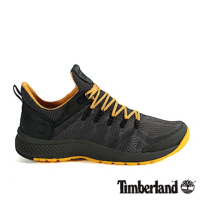 Timberland 男款FlyRoam Trail深灰色低筒布面靴