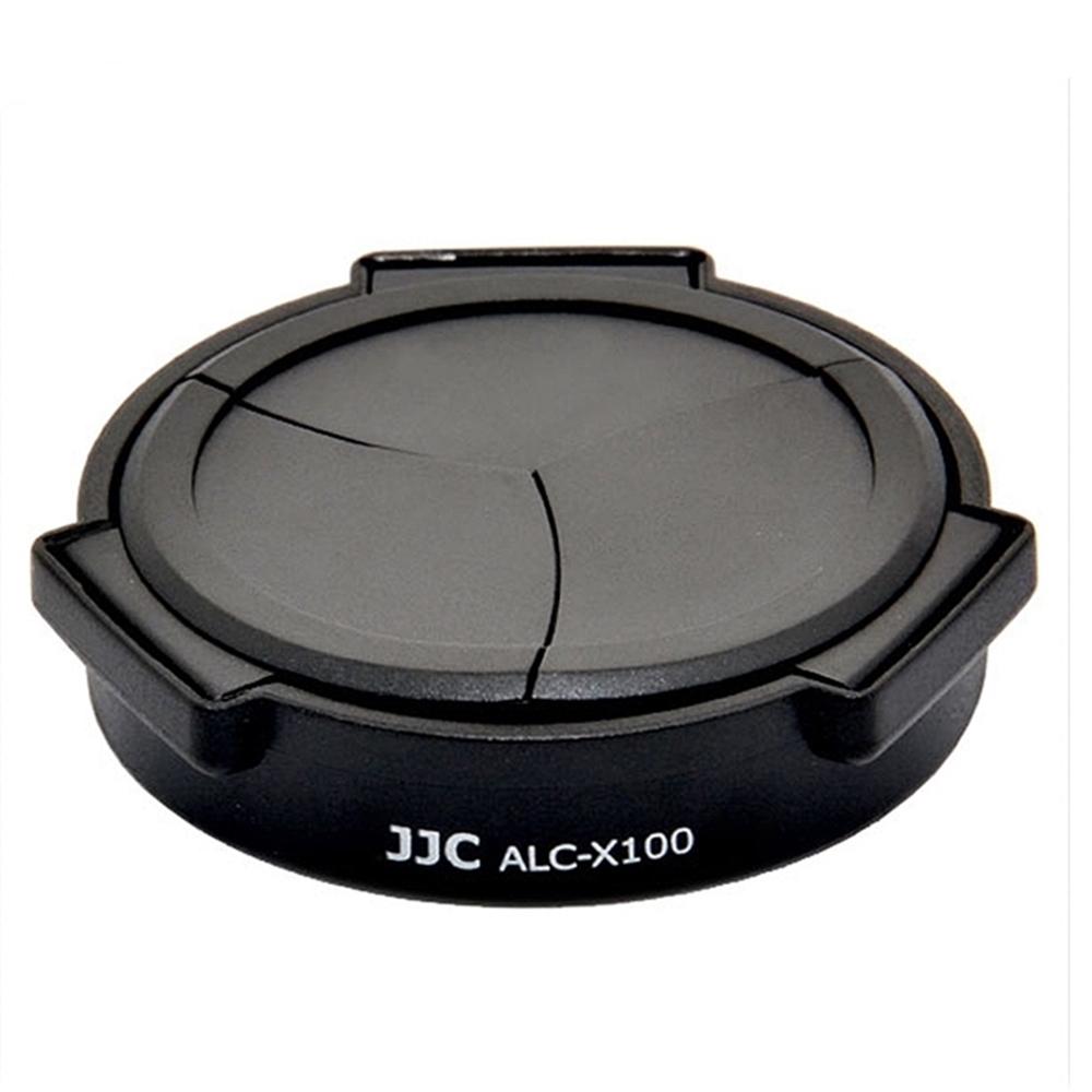 JJC Fujifilm副廠自動蓋ALC-X100B黑色/ALC-X100S銀色適Fujifilm X100V、X100F、X100T、X100S、X100、X70