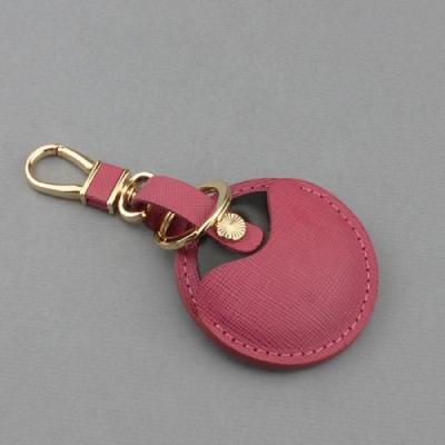 J II 十字紋粉色-gogoro鑰匙皮套-OMC
