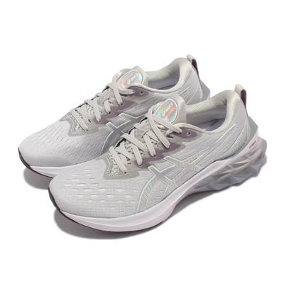 Asics 慢跑鞋 Novablast 2 Platinum 女 亞瑟士 旗艦白金版 彈力型 緩震 支撐 灰 白 1012B131020