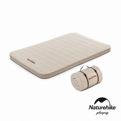 Naturehike C10舒適靜音 雙人加厚自動充氣睡墊 防潮墊 奶酪色-急