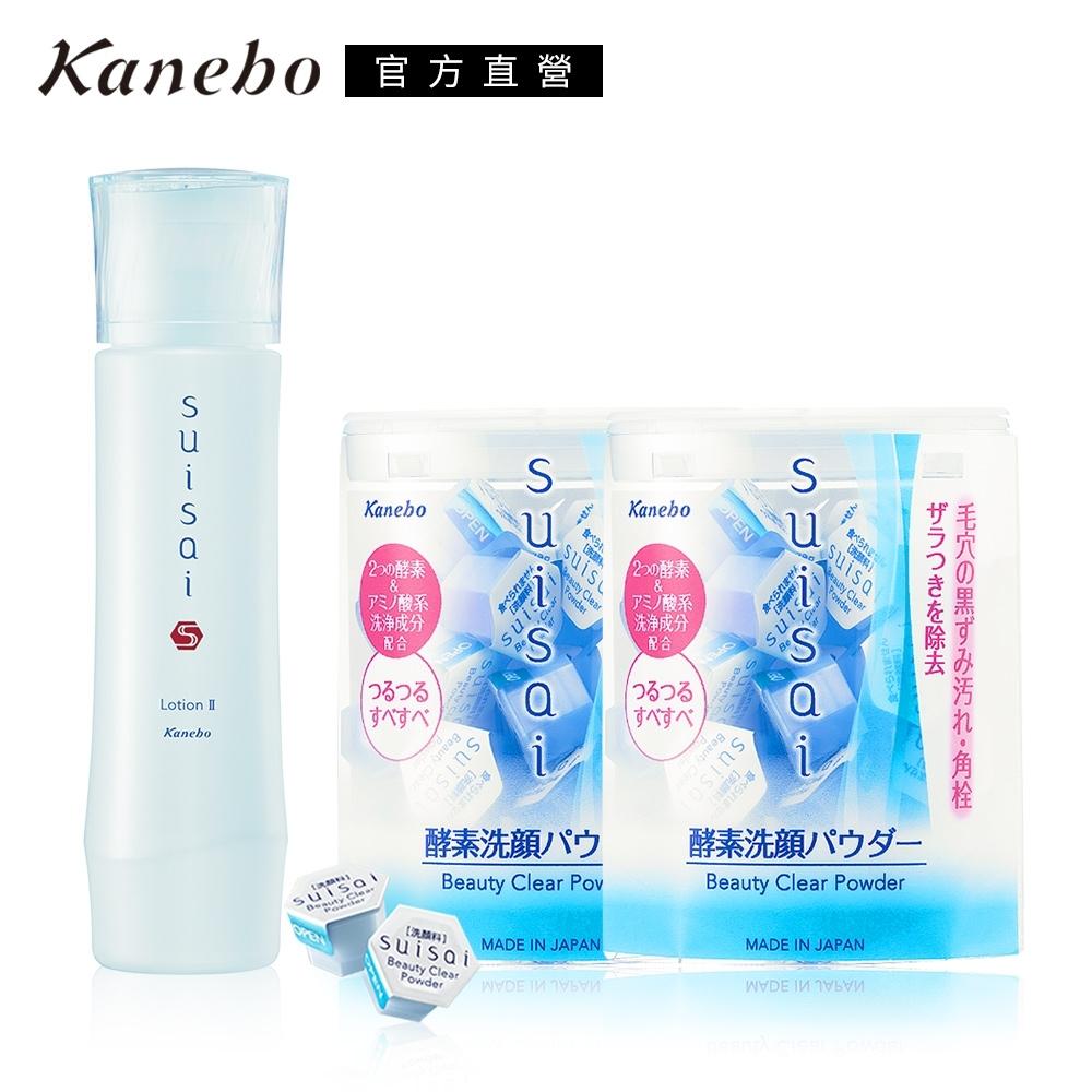 Kanebo 佳麗寶 suisai 酵素潔膚保濕口碑超值組