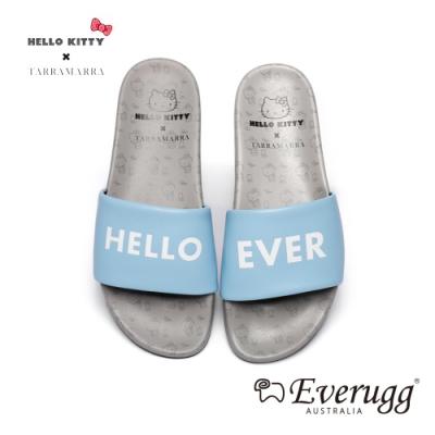澳洲EVERUGG HELLO KITTY聯名休閒拖鞋(天藍色) N2