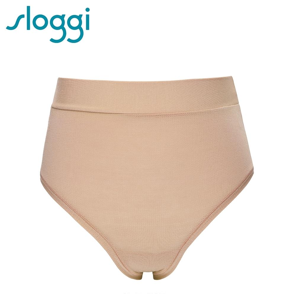 sloggi-GO-Allround-全方位無限彈力包覆系列高腰褲 濃醇花生醬 74-6634 3L