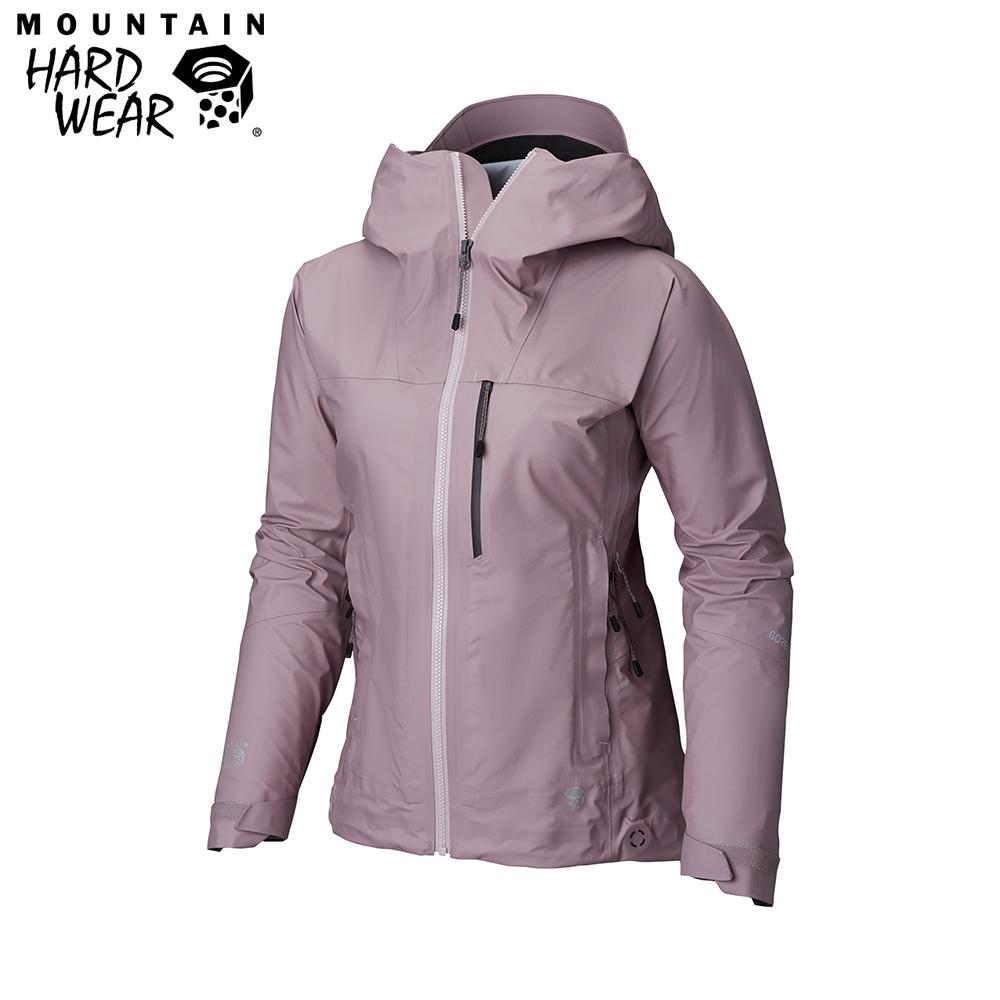 Mountain Hardwear 女款- GORE-TEX 防水外套-紫色