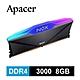 Apacer NOX RGB DDR4 3000 8GB 桌上型RGB發光電競記憶體 product thumbnail 1