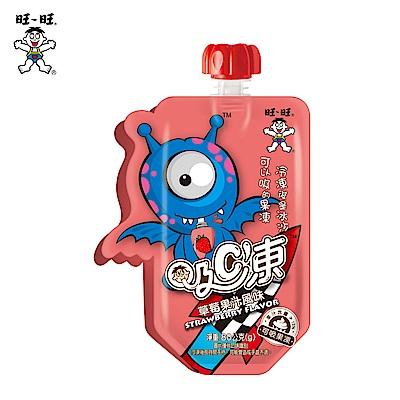 旺旺 吸C凍-草莓果汁風味(80gx6入)