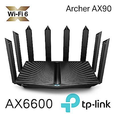TP-Link Archer AX90 AX6600 wifi 6-802.11ax Gigabit三頻無線網路分享路由器