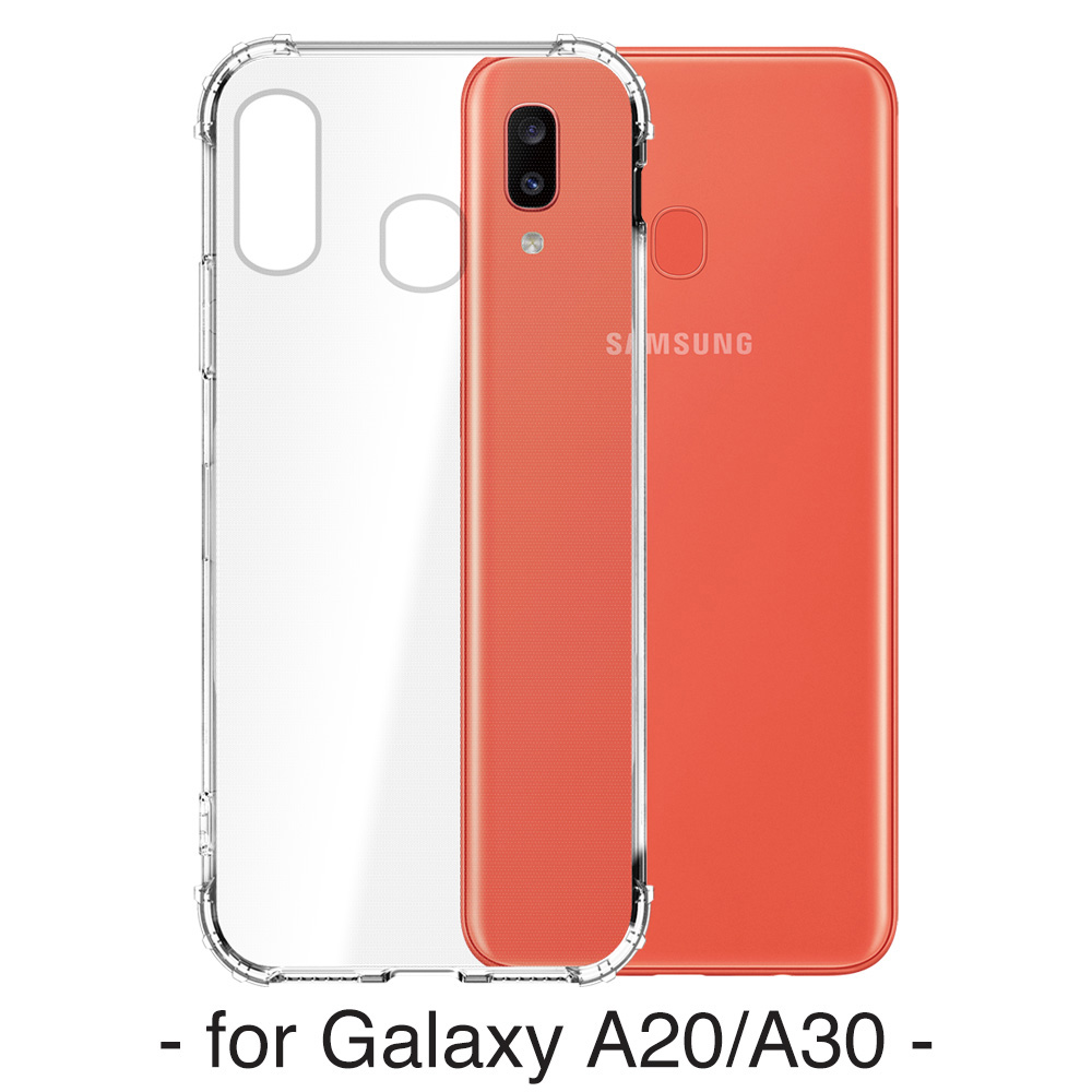 【YADI】三星 Samsung Galaxy A20/A30手機保護殼/空壓殼/軍規認證