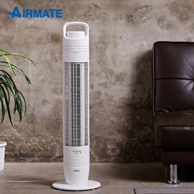 [時時樂限定]AIRMATE艾美特 3段速微電腦遙控夜燈DC直流大廈扇 白色