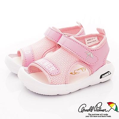 雨傘牌 專櫃超輕量休閒涼鞋款 EI93855粉紅(小童段)