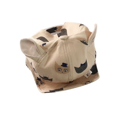 Baby童衣 嬰幼童印花軟檐鴨舌帽棒球帽 88283
