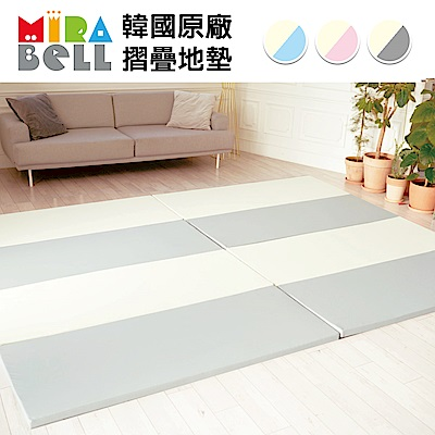 [時時樂限定43折] 韓國 MIRABELL 兒童4cm摺疊地墊-四色任選