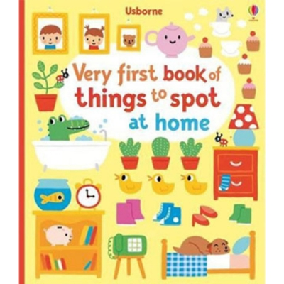 Very First Book Of Things To Spot At Home 居家生活遊戲書