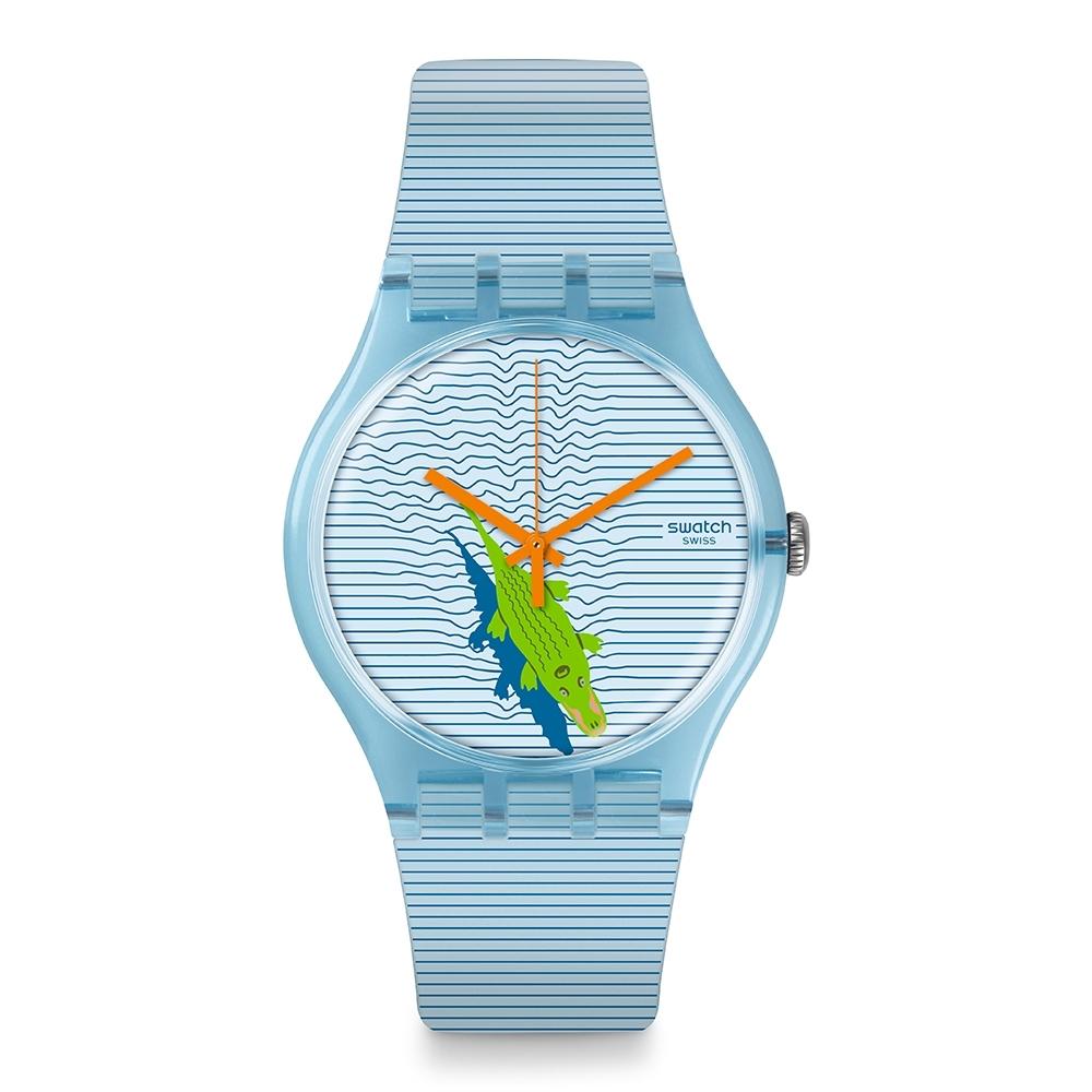 Swatch New Gent 原創系列手錶 POOL SURPRISE -41mm