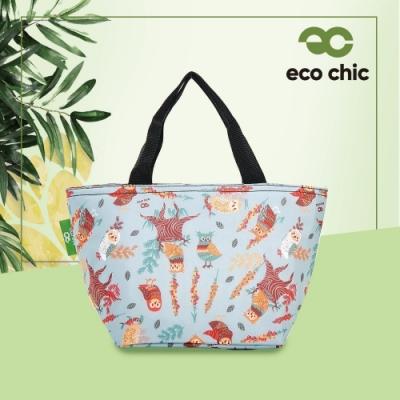 【英國ECO】時尚保冷袋-貓頭鷹(100%再生環保纖維布料)(快)