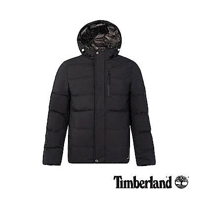 Timberland 男款黑色登山保暖羽絨外套|A1NDO