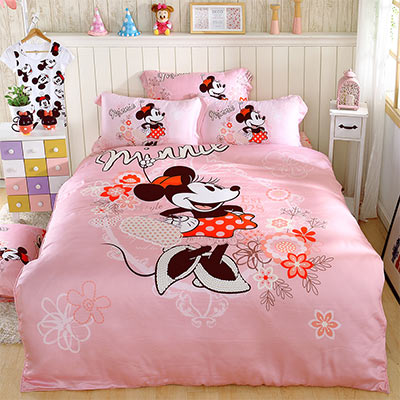 LASOL睡眠屋-100%奧地利天絲 單人兩用被床包三件組蜜糖米妮