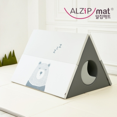 【ALZiPmat】韓國 HOUSE TENT SET 小屋帳篷 遊戲墊 - 愛睏熊