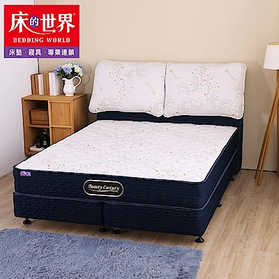 床的世界 BL5 天絲針織 雙人標準 獨立筒床墊/上墊 5×6.2尺